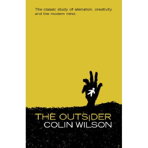cover of the Book by Colin Wilson called The Outsider